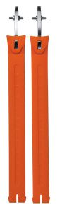 Sidi (Nr. 45) Straps Extra Long Orange Fluo