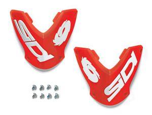 Sidi Vortice/ST Nylon Outer Shin Plate Red (90)