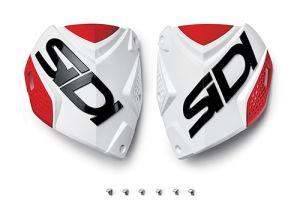 Sidi CF2 shin plate White-Red (132)