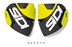 Sidi CF3 shin plate Black-Yellow (153)