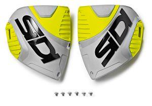 Sidi CF3 shin plate Ash-Yellow Fluo (153)