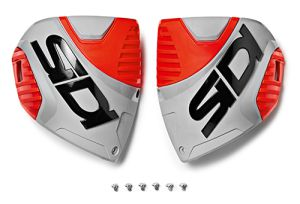 Sidi CF3 shin plate Ash-Red Fluo (153)