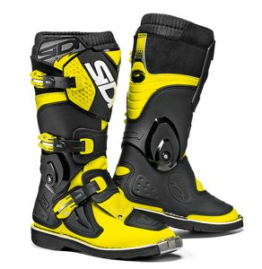 Sidi Flame Black-Yellow Fluo 35