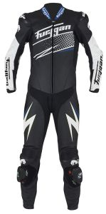 Furygan 6540-156 Leather suit Full Ride Black-White-Blue 48
