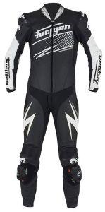 Furygan 6540-1024 Leather suit Full Ride Black-White-Silver 48