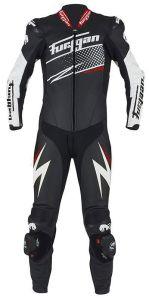 Furygan 6540-169 Leather suit Full Ride Black-White-Red 48