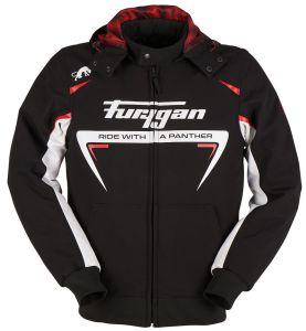 Furygan 6416-169 Jack Sektor Roadster Black-White-Red 3XL