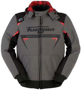 Furygan 6416-923 Jack Sektor Roadster Dark Grey-Black-Red 3XL