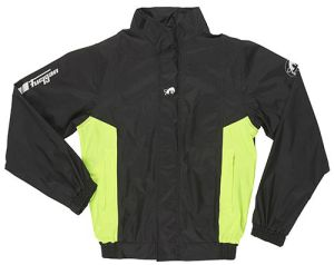 Furygan 6402-1031 Rain Jacket Neptune Black-Yellow Fluo 3XL