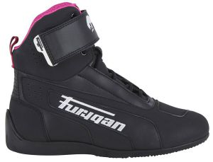 Furygan Shoes 3125-1027 Zephyr D3O Lady Black-White-Pink 37