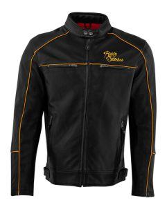 Rusty Stitches Jacket Chase Black-Gold (58-3XL)