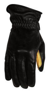Rusty Stitches Gloves Johnny Black/Yellow 3XL