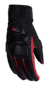 Rusty Stitches Gloves Christine Black/Red L