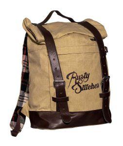 Rusty Stitches Bag Archer Beige-Brown