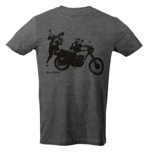 Rusty Stitches T-Shirt Charlie Grey (XS)
