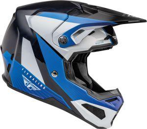 Fly Helmet Formula CRB Prime Blue-White-Crb (58-M)