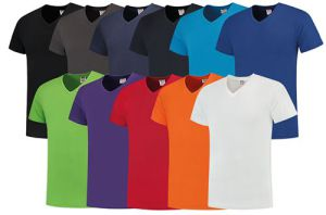 T-Shirt V-Neck Slim-Fit