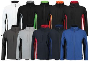 softshell jacket bicolor