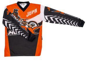 Jopa MX-Jersey Moto-X-Kids Orange 128