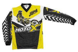 Jopa MX-Jersey Moto-X-Kids Yellow 128