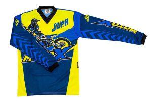 Jopa MX-Jersey Moto-X-Kids Blue/Neon 128