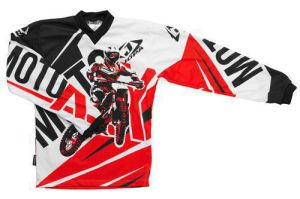 Jopa MX-Jersey Moto-X-Baby Red 104