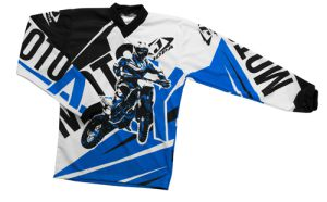Jopa MX-Jersey Moto-X-Baby Blue 104