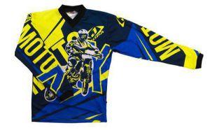 Jopa MX-Jersey Moto-X-Baby Blue/Neon 104