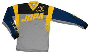 Jopa MX-Jersey 2019 Looper Grey-Navy-Yellow 4XL