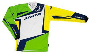 Jopa MX-Jersey 2019 Divergent White-Green-NEON Yellow 104