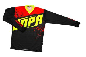 Jopa MX-Jersey 2020 Charge Neon Yellow-Red 3XL