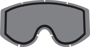 Polywel/RNR Double lens 100% Goggles Smoke