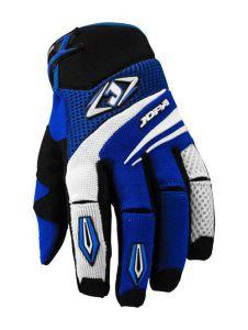 MX-4 Gloves Black-Blue 9