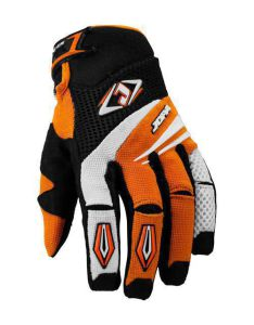 MX-4 Gloves Kids Black-Orange 3