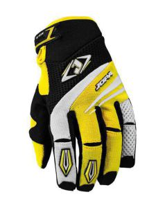 MX-4 Gloves Black-Yellow 000