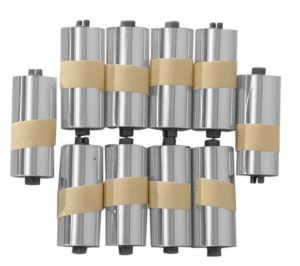 Polywel Roll off rolletjes for 100% Forecast 45mm. (10-Pack)