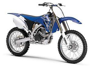 Miniatuur motor 1:6 cross Yamaha