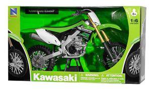 Miniatuur motor 1:6 cross Kawasaki
