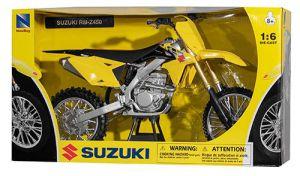 Miniatuur motor 1:6 cross Suzuki