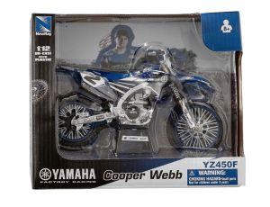 Miniatuur motor RHC Yamaha Racing Team C. Webb (2) 1:12