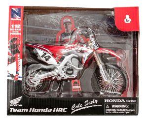 Miniatuur motor HRC Honda Factory Cole Seely (14) 1:12