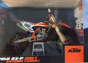 Miniatuur KTM Cairoli (#222) 1:10