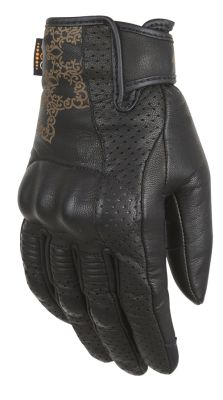 astral lady glove black