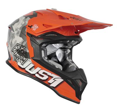 j39 kinetic grey camofluo orange