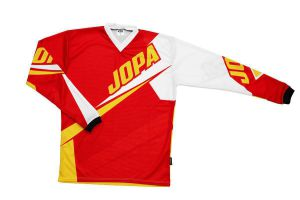 Jopa MX-Jersey 2020 Dust-off Red-Yellow L