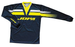 Jopa MX-Jersey 2021 Kids Victory Navy/Yellow Fluo 158