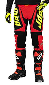 Jopa MX-Pants 2020 Charge Neon Yellow-Red 40
