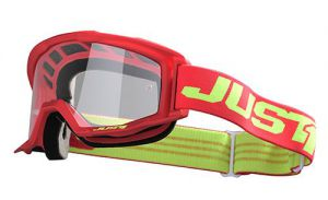 JUST1 Goggle Vitro Red-Yellow Fluo