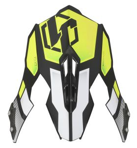 JUST1 J12 Peak Vector White-Yellow Fluo-Carbon