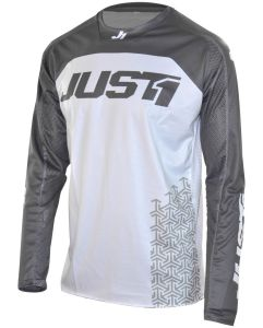 JUST1 MX-Jersey J-FORCE Adult Terra White-Grey (XS)